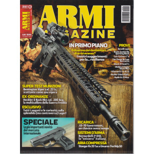 Armi magazine - n. 6 - giugno  2021 - mensile