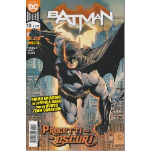 Batman -n. 13- Progetti oscuri -  quindicinale - 10 dicembre 2020