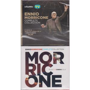 Gli speciali musicali di Sorrisi - n. 23 -6/8/2021 -Ennio Morricone - Complete collection -sesta   uscita cd Muisc for cinema vol. 6 + libretto inedito