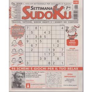 Settimana Sudoku - n. 801 - settimanale - 18 dicembre 2020