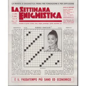 La Settimana Enigmistica - n. 4641 - 4/3/2021 - settimanale