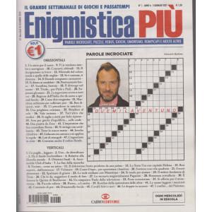 Enigmistica Piu' - n. 1 - settimanale - 5 gennaio 2021