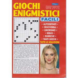 Giochi Enigmistici Facili - n. 73 - bimestrale - febbraio - marzo 2021