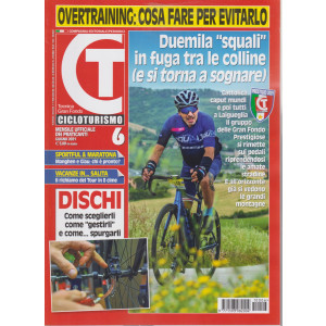 Cicloturismo - n. 6 - mensile - giugno  2021
