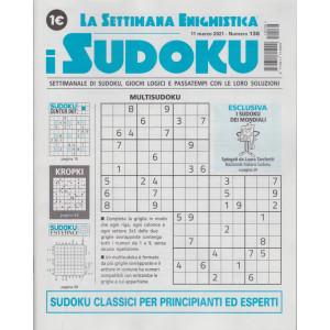 La settimana enigmistica - i sudoku - n. 138 - 11 marzo   2021 - settimanale