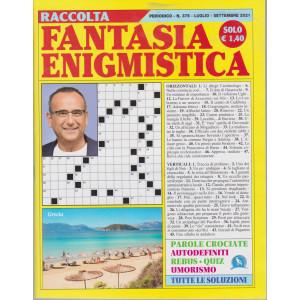 Raccolta Fantasia Enigmistica - n. 375 -luglio - settembre 2021