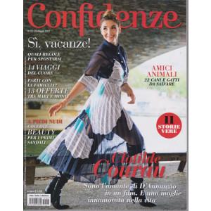 Confidenze - n. 23 -25  maggio   2021 - settimanale