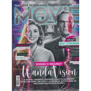 Best Movie - n. 1  - gennaio 2021 - mensile + Best Streaming 2021 - 2 riviste