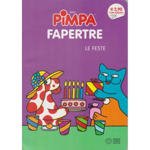 Pimpa - Fapertre - Le feste - n. 394 - mensile - Con adesivi