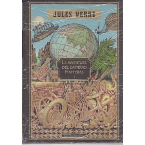 Jules Verne -Le avventure del capitano Hatteras I  -16/7/2021 - settimanale - copertina rigida
