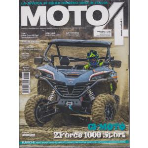 Moto 4 -n. 167 - bimestrale - gennaio - febbraio 2021 -