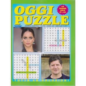 Oggi Puzzle - n. 271- bimestrale  - maggio - giugno  2021 - 68 pagine