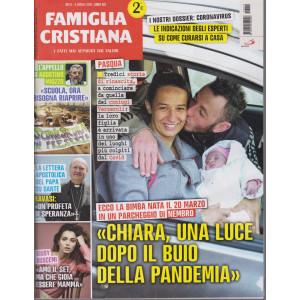 Famiglia Cristiana - n-14- settimanale - 4 aprile  2021