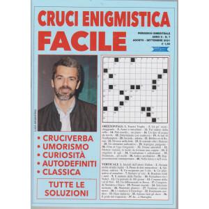 Cruci Enigmistica Facile - n. 7 - bimestrale - agosto - settembre  2021