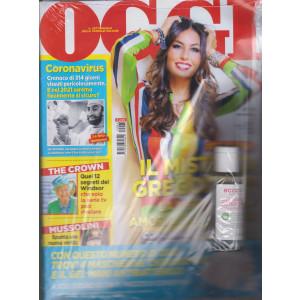 Oggi + Gel mani detergente - + mascherina - n. 1 - 7/1/2021 - settimanale