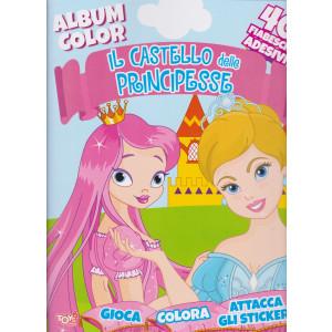 Toys2 Color & Sticker -Album color -  Il Castello delle principesse - n. 49 - bimestrale - 11 febbraio 2021