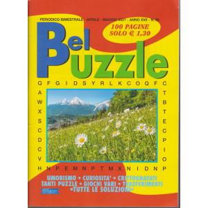Bel Puzzle - n. 95 - bimestrale -aprile - maggio  2021 - 100 pagine