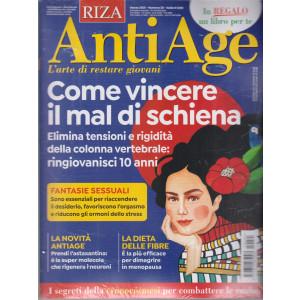 Riza Antiage - n. 35 - marzo 2021 - mensile + il libro Mangia Bio. Il cibo più sano e sicuro. - rivista + libro