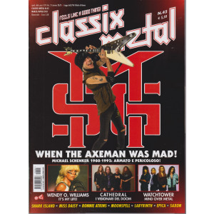 Classix! Metal -    n. 45- marzo - aprile  2021 - bimestrale
