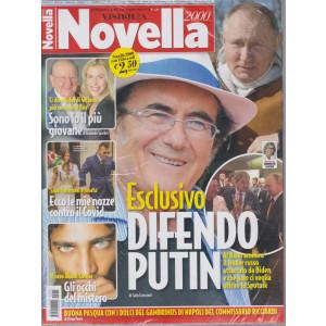 Novella 2000  - + Visto - n. 15 - settimanale -1 aprile    2021- 2 riviste