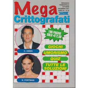 Mega Crittografati - n.52 - trimestrale - ottobre - dicembre  2021- 196 pagine