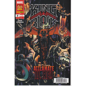 Marvel miniserie -King in black- Acclamate il re! -  n. 245 -mensile  - 13 maggio  2021