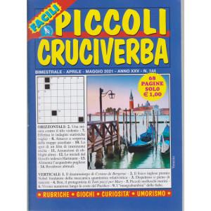 Piccoli Cruciverba - n. 144 - bimestrale -aprile - maggio 2021 - 68 pagine