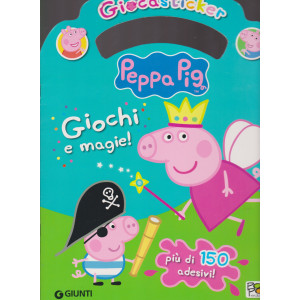 Giocasticker - Peppa Pig - n. 1 - bimestrale - giugno - luglio 2020