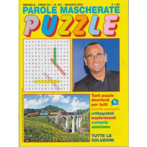 Parole mascherate puzzle - n. 481 - maggio   2021 - mensile