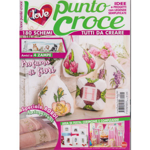 I Love Punto Croce -n. 5 - bimestrale - febbraio - marzo 2021