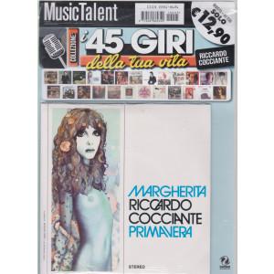 I 45 giri della tua vita - Riccardo Cocciante - Margherita - Primavera - rivista + 45 giri - n. 5