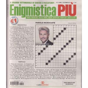 Enigmistica Più - n. 39 - settimanale - 28 settembre 2021 -