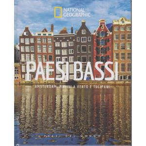 National Geographic - Paesi Bassi -Amsterdam, mulini a vento e tulipani  n. 31 - 2/4/2021 - settimanale - copertina rigida