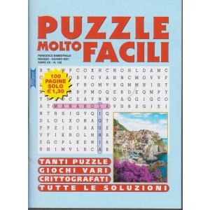 Puzzle molto facili - n. 102 - bimestrale - maggio - giugno 2021- 100 pagine
