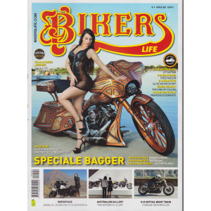 Bikers Life - n. 4 -aprile    2021 - mensile -