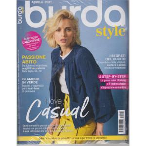 Burda style -  n. 4 - aprile 2021 - mensile -+ L'Arca di Noè  in omaggio - 2 riviste