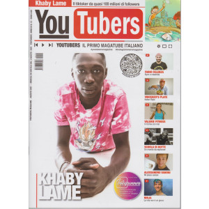 Youtubers - n. 12 - agosto  2021 - mensile -