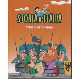 Storia d'Italia -L'Italia dei comuni - n. 20- 29/12/2020 - settimanale - copertina rigida
