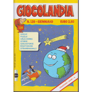 Giocolandia - n. 139 - gennaio 2021 - mensile -