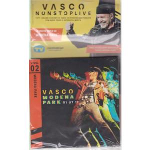 Grandi Raccolte Musicali n. 2  -Vasco nonstoplive - seconda uscita  - triplo cd - Modena Park 1/7/17 -