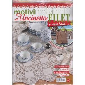 Motivi all'uncinetto - Filet e non solo......- n. 40 - bimestrale - giugno - luglio 2021 - 2 riviste