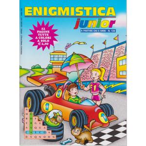 Enigmistica Junior - n. 124 - trimestrale -aprile - giugno 2021 - 52 pagine tutte a colori