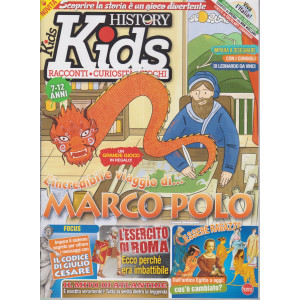 Bbc History Kids - n. 1 - gennaio - febbraio 2021 - bimestrale - 7-12 anni