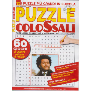 Puzzle Colossali - n. 29 - aprile - maggio 2021 - bimestrale