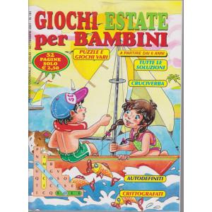 Giochi estate per bambini - n. 191 - luglio - settembre 2021 - 52 pagine