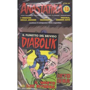 Diabolik + Anastatika - n. 13  del 1964 - Il morto che ritorna  - settimanale -