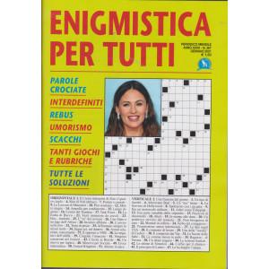 Enigmistica per tutti - n. 267 - mensile - gennaio 2021