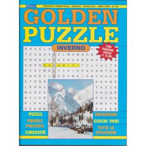 Golden Puzzle - n. 137 - trimestrale -gennaio - marzo 2021- 100 pagine