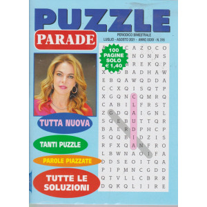 Puzzle Parade - n. 316 - bimestrale - luglio - agosto  2021- 100 pagine