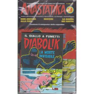 Anastatika +   Diabolik - n. 29 - La morte invisibile- settimanale - 2 fumetti